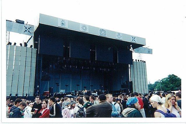 U2 Slane Stage