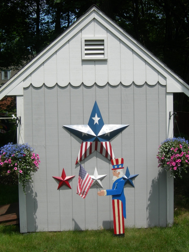Patriotic Shed