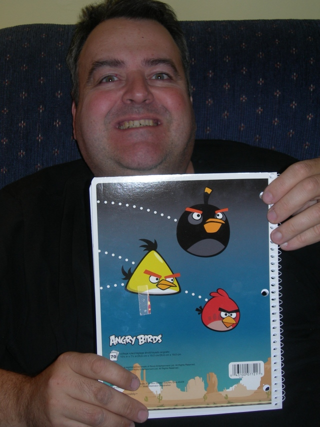 Billy's Angry Birds Notebook