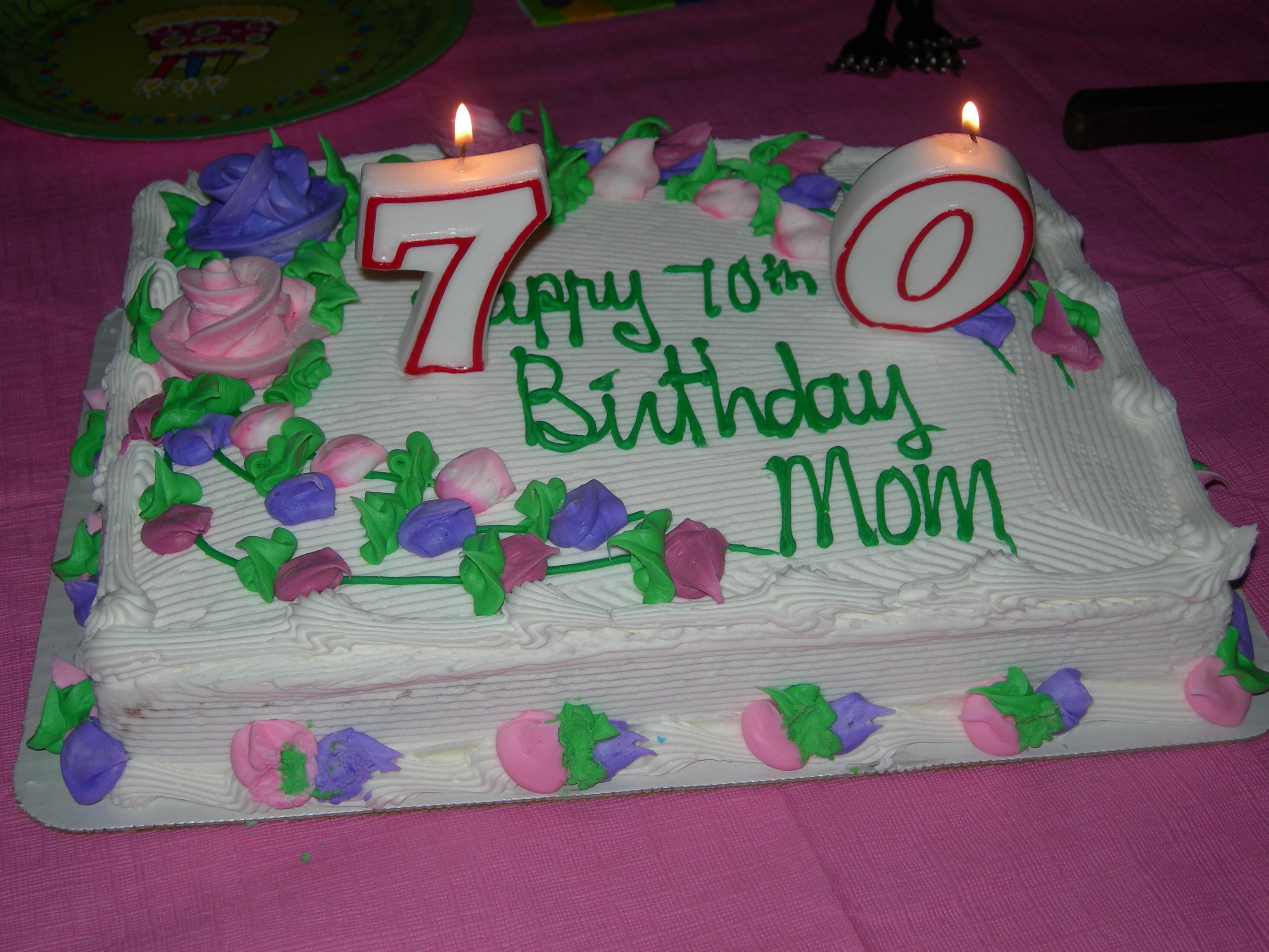 Happy 70th Birthday To My Mom