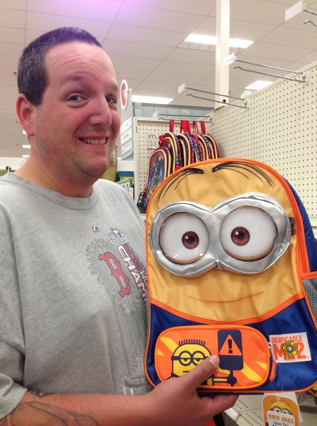 rob minion backpack