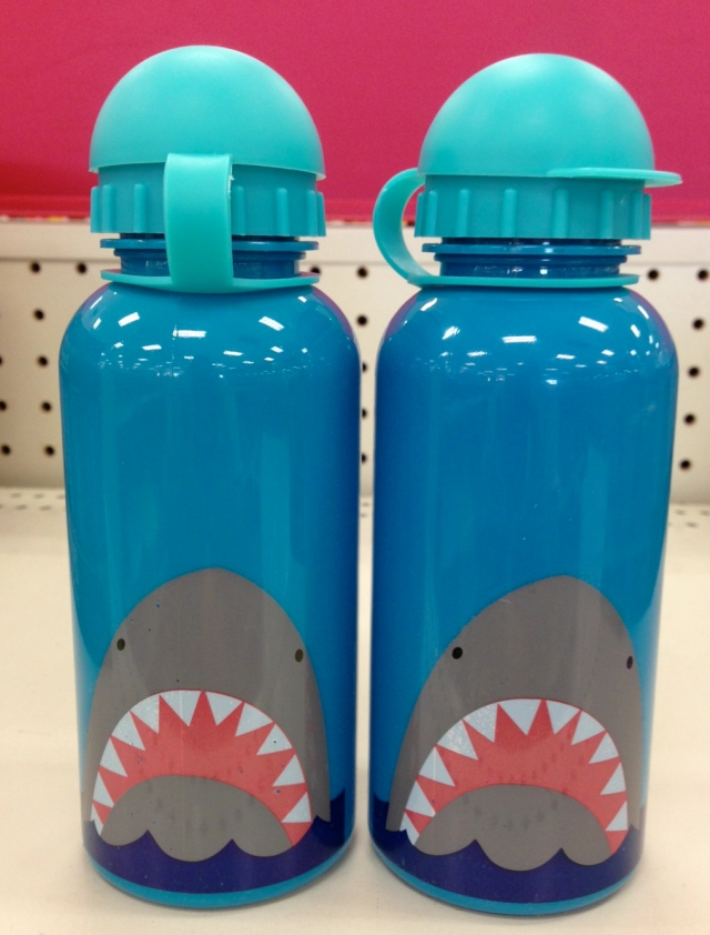 shark water bottles