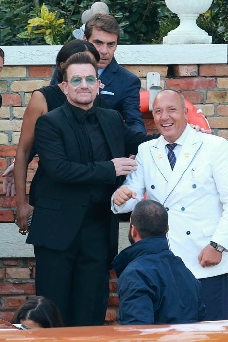 bono heading to george's wedding