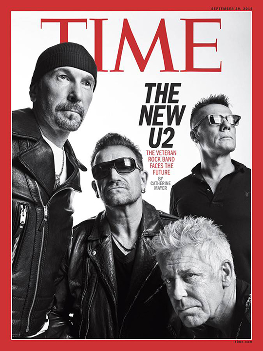 the new u2 time