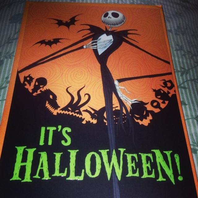 jack skellington halloween card