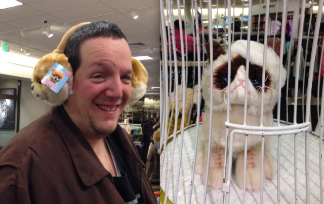 rob and grumpy cat nordstrom