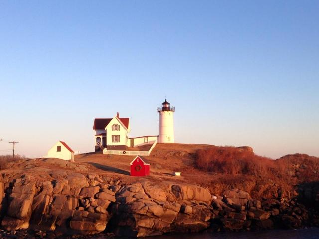 nubble light january 2015