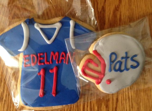 patriots cookies