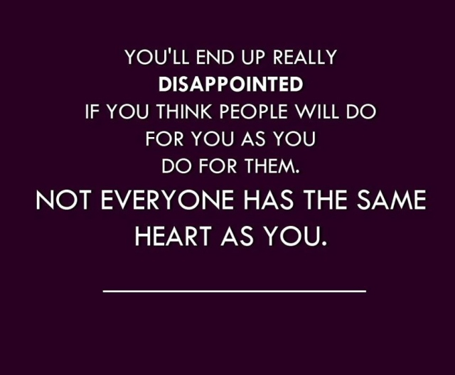 Disappointed Quote