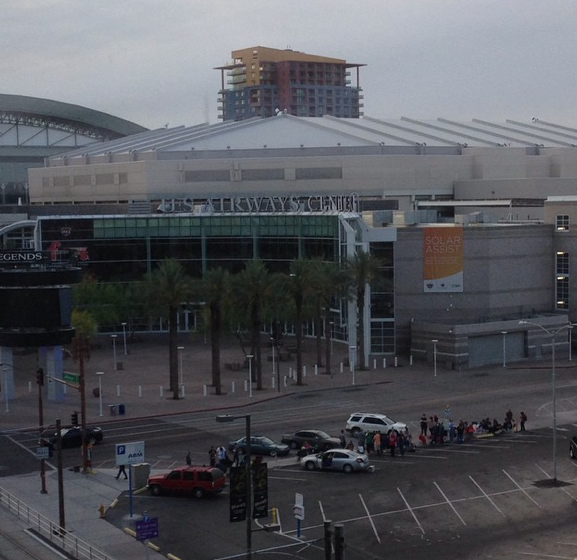 US Airways Center U2