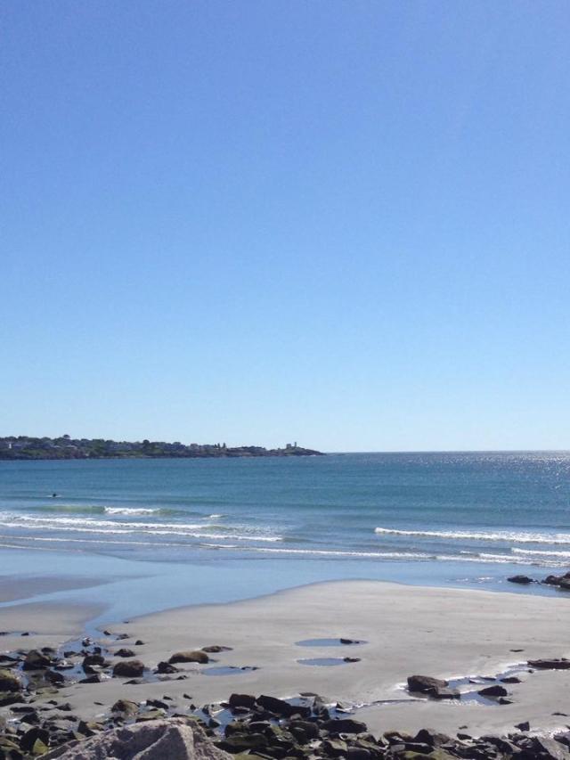 long sands beach view