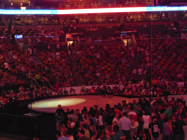 E stage view