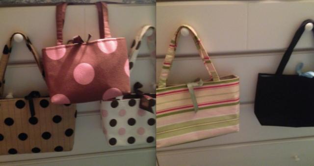handbag donations