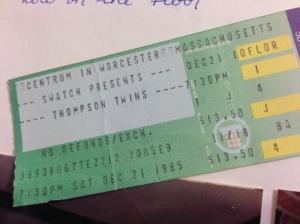 Thompson Twins December 21 1985