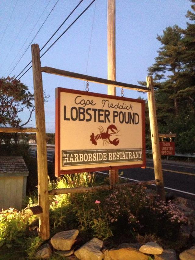 Cape Neddick Lobster Pound October 2015