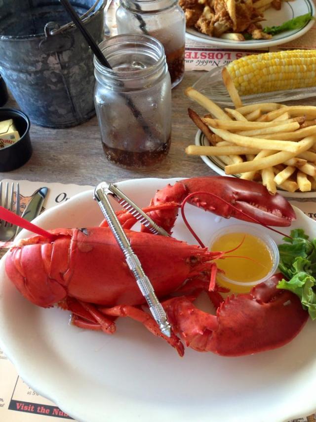 keg boiled lobster