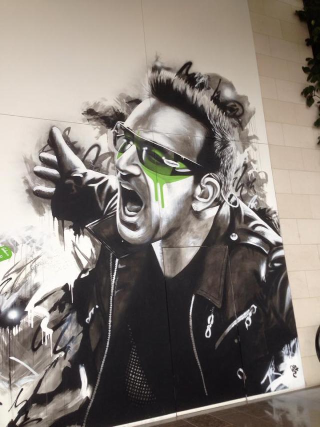 Bono Mural
