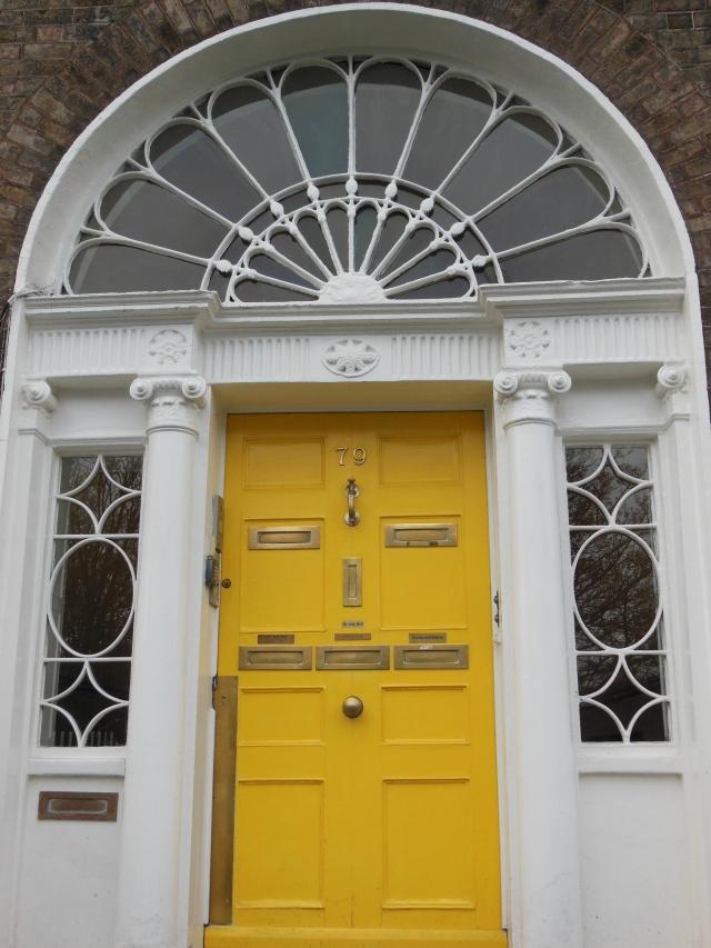 yellow door of dublin