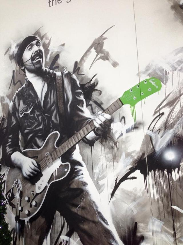 Edge Mural