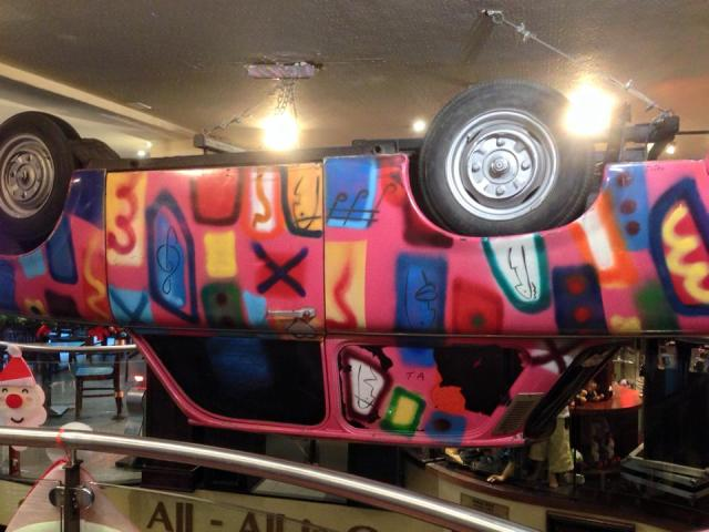 Hard Rock Cafe Dublin Trabant