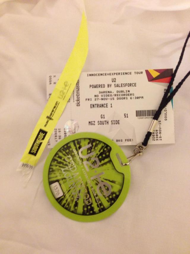 music generation zone U2 ticket