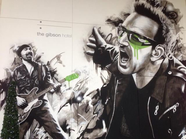 U2 Mural