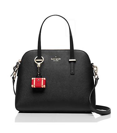 Kate Spade Suitcase keychain
