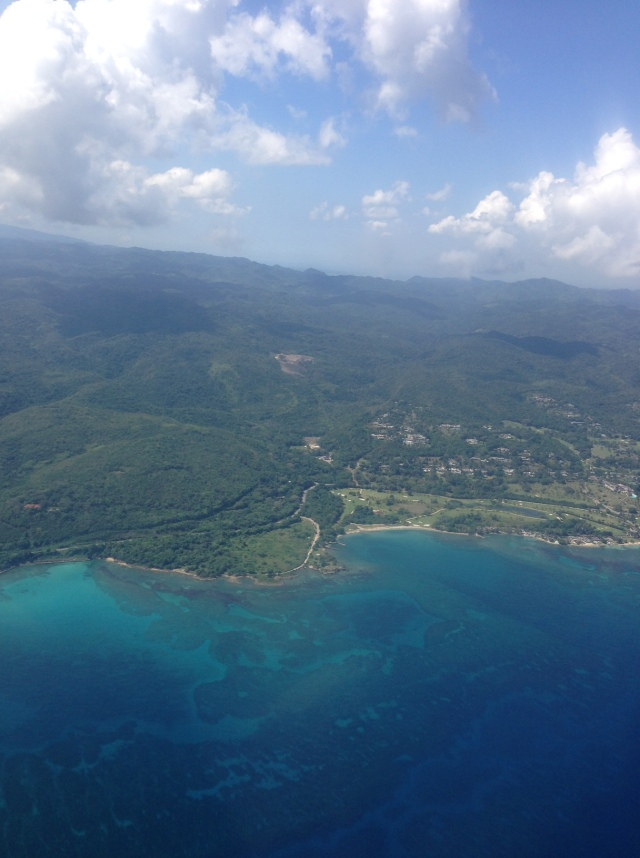 flying into montego bay