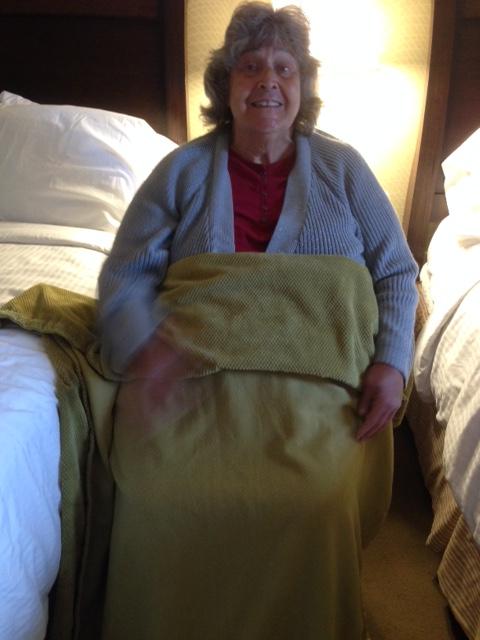 blanket mom