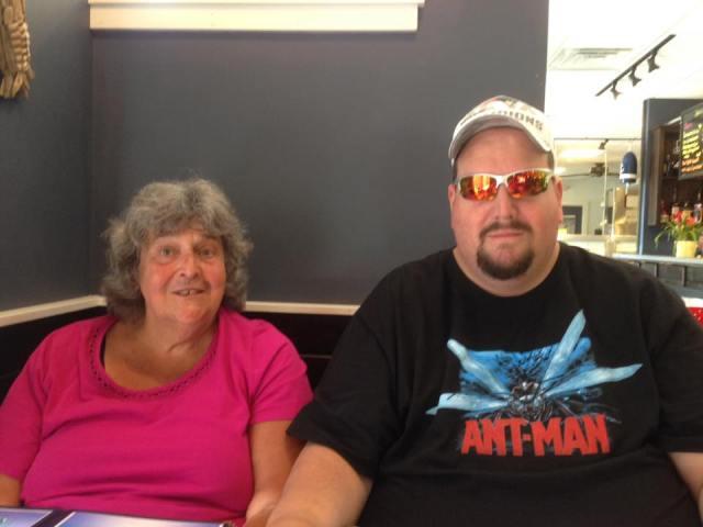 Mom and Joe