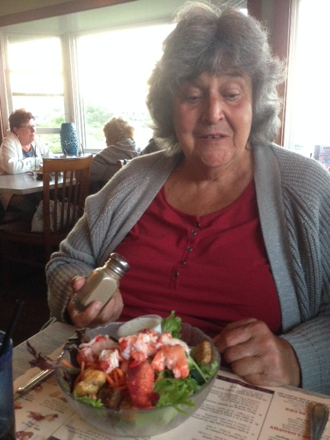 mom lobster salad