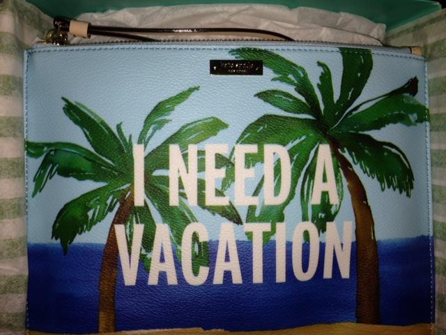 KS I need a vacation