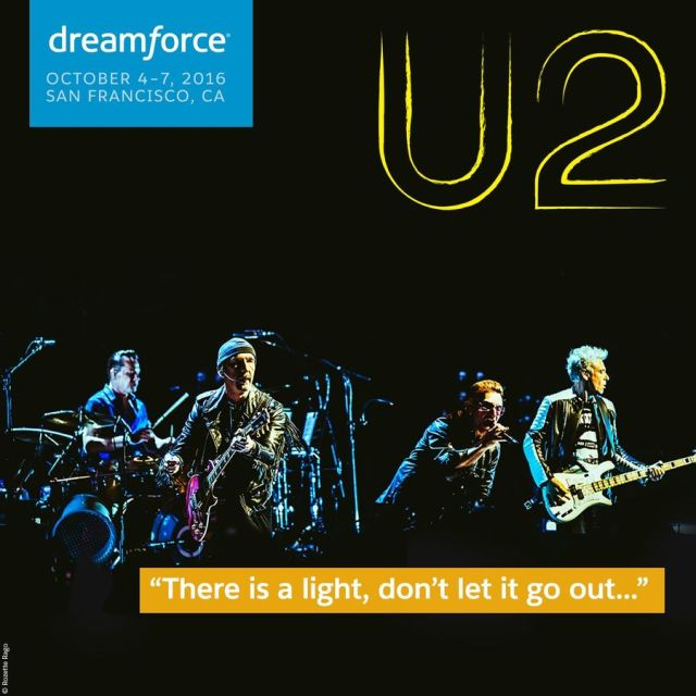 u2 dreamforce