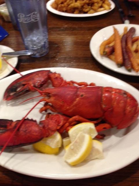 keg lobster sunday
