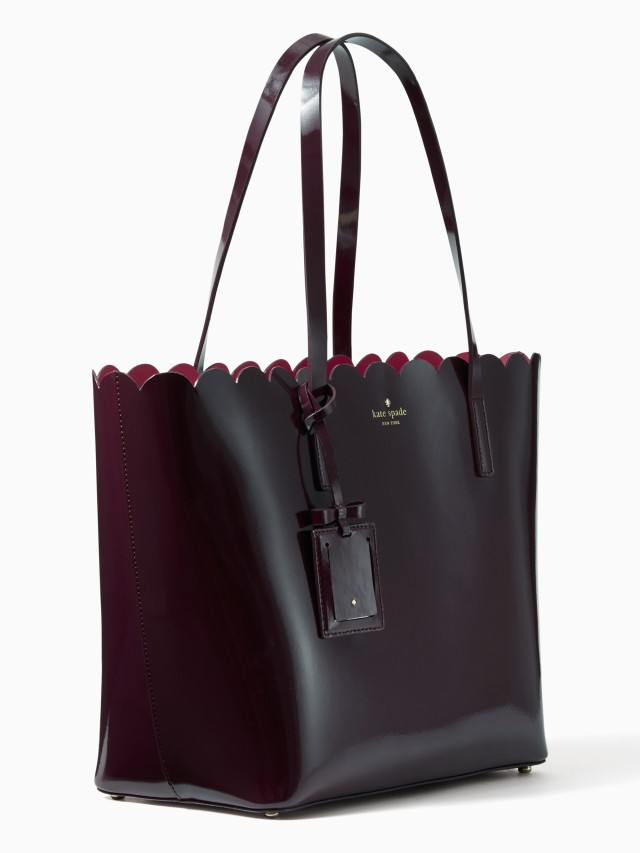 lily avenue patent carrigan tote