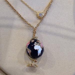 ks globe necklace