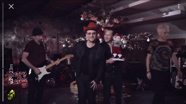 U2 2016 Christmas message
