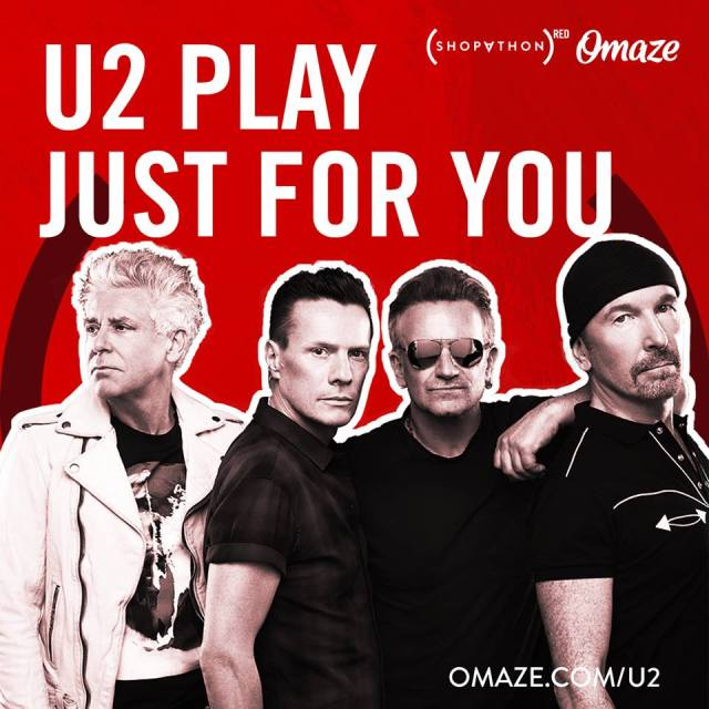 u2 play just for you