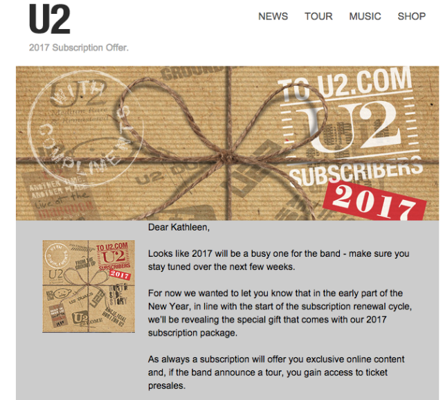 u2 subscription