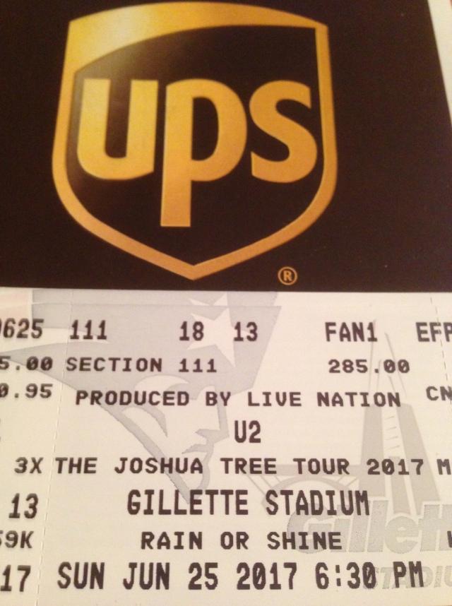 u2 ticket